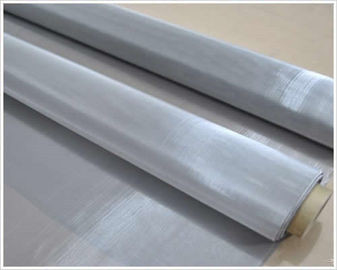 Plain Weave Stainless Steel Woven Wire Mesh Screen Customized Length Long Lifespan